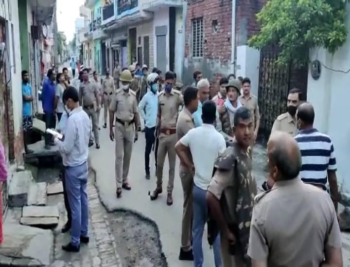 कंकरखेड़ा, परतापुर, ब्रह्मपुरी, टीपी नगर इलाके में रहने वाले किसानों के घर विद्युत विभाग और विजिलेंस की टीम ने पुलिस के साथ छापेमारी की। - Dainik Bhaskar