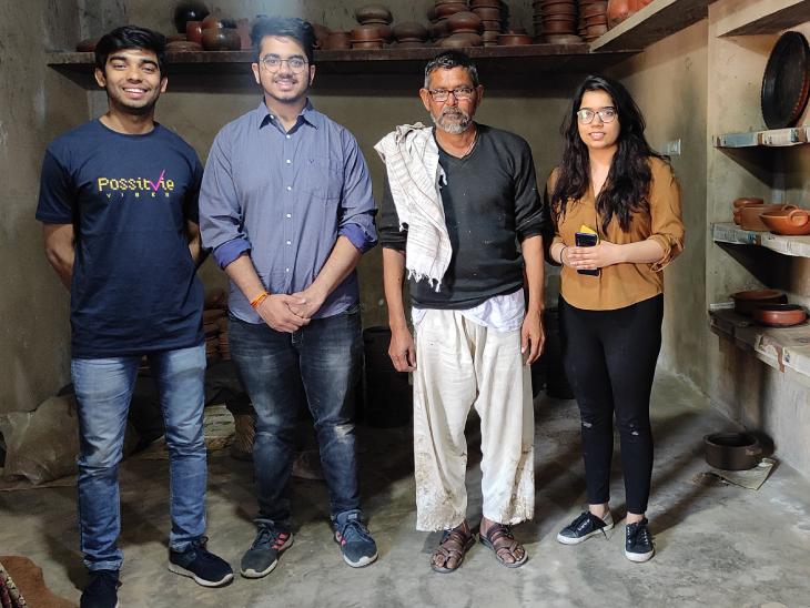 अभिनव और मेघा ने करीब 200 कारीगरों को अपने स्टार्टअप के जरिए जोड़ा है। इससे उन्हें रोजगार मिल रहा है।
