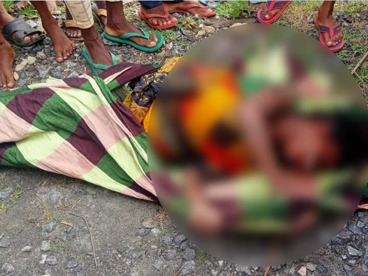 महिला की हत्या की आशंका, बेटी ने कहा-पता नहीं रात में कब निकली घर से बाहर|झारखंड,Jharkhand - Dainik Bhaskar
