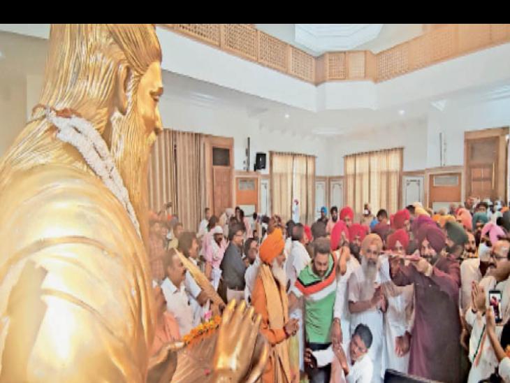 4 दिन पहले सीएम के हक में लैटर लिखने वाले जोगिंदर भोआ बाेले-सिद्धू ने कोई गुनाह नहीं किया जो कैप्टन से माफी मांगें|अमृतसर,Amritsar - Dainik Bhaskar