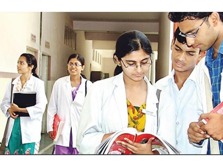 नीट: बी पार्ट में 10 से ज्यादा प्रश्न करने पर एनटीए ने साफ नहीं की स्थिति|जयपुर,Jaipur - Dainik Bhaskar