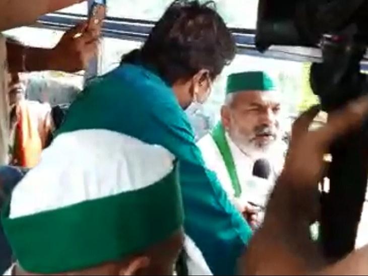 सिंधु बॉर्डर से 4 बसों में बैठकर 200 किसानों का दल दिल्ली रवाना हुआ, राकेश टिकैत भी साथ में जा रहे हैं|हरियाणा,Haryana - Dainik Bhaskar
