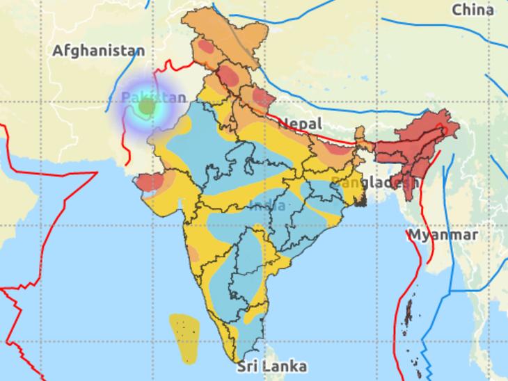 बीकानेर में लगातार दूसरे दिन भूकंप के तेज झटके, रिक्टर स्केल पर 4.8 मापी गई तीव्रता; फिलहाल किसी नुकसान की खबर नहीं|देश,National - Dainik Bhaskar