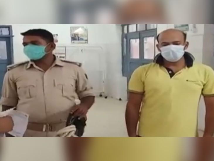 गिरफ्तार मास्टरमाइंड अतुल कुमार। - Dainik Bhaskar