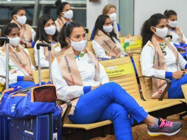 भारतीय दल के 3 सदस्यों ने हेल्थ ऐप में ठीक से डेटा नहीं डाला, जारी हो गया कोरोना का अलर्ट|टोक्यो ओलिंपिक,Tokyo Olympics - Dainik Bhaskar