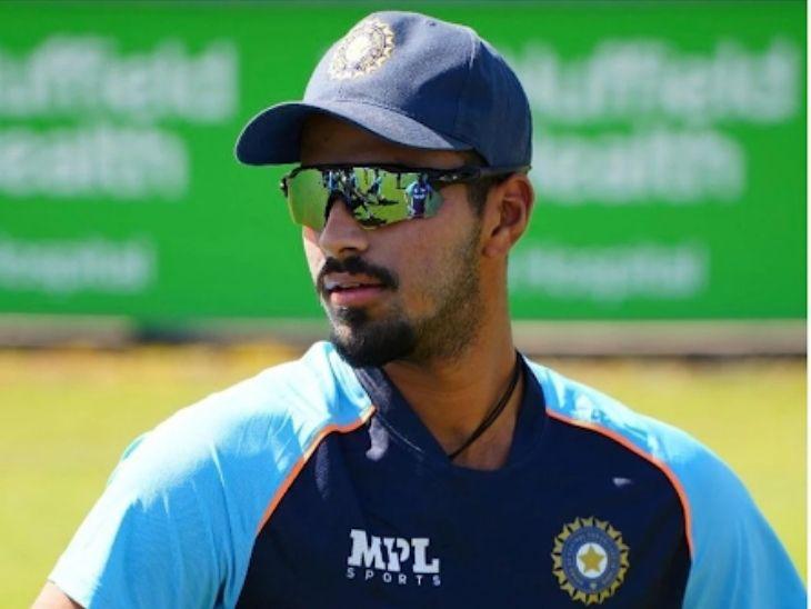 वॉशिंगटन सुंदर इंग्लैंड दौरे से बाहर, प्रैक्टिस मैच में काउंटी सिलेक्ट टीम की ओर से खेलते हुए चोटिल हुआ अंगूठा|क्रिकेट,Cricket - Dainik Bhaskar