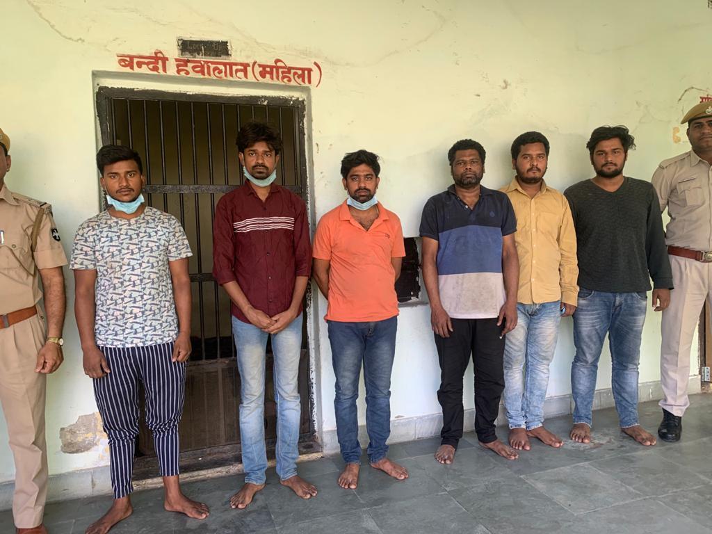 अधिकारी बनकर लालच दिया, झारखंड-बिहार की झुग्गियों में बैठकर गरीबों के अकाउंट डिटेल निकाले, 77 लाख लूटने वाले6 गिरफ्तार|राजस्थान,Rajasthan - Dainik Bhaskar