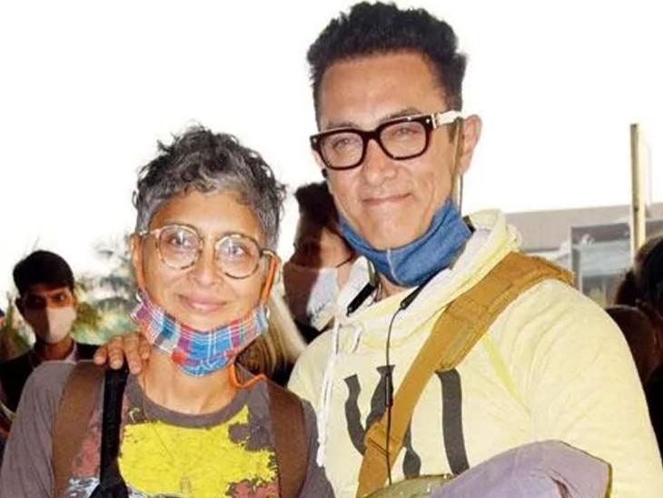 आमिर खान ने पूर्व पत्नी किरण राव और टीम के साथ एंजॉय किया टेबल टेनिस टूर्नामेंट, लाल सिंह चड्ढा के सेट से सामने आईं तस्वीरें|बॉलीवुड,Bollywood - Dainik Bhaskar