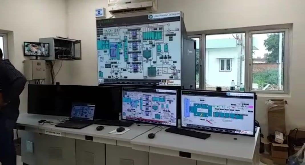 शुक्रवार को ऊर्जा मंत्री श्रीकांत शर्मा ने एसटीपी (सीवेज ट्रीटमेंट प्लांट) का निरीक्षण किया।