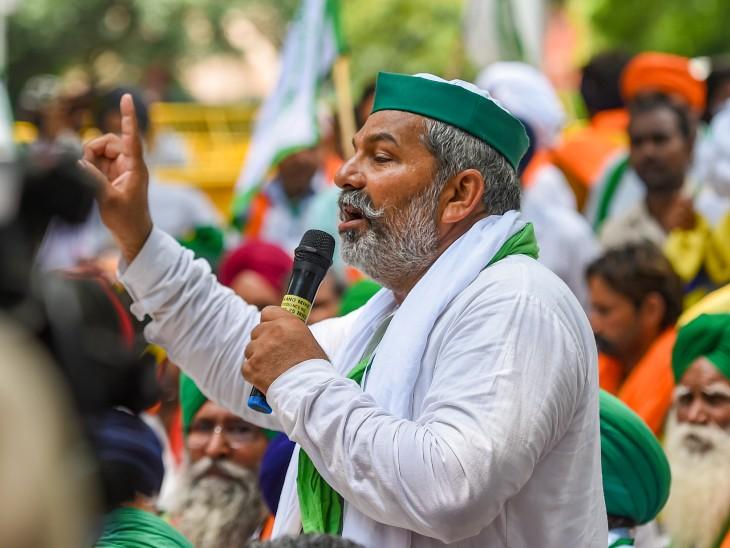किसान नेता राकेश टिकैत बोले- दिल्ली का शेर चुप है, यानी हरकत होने वाली है; गांव वालों तैयार रहना|देश,National - Dainik Bhaskar
