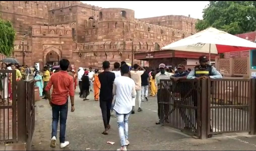 ताजमहल होन के भ्रमण - दैनिक भास्कर