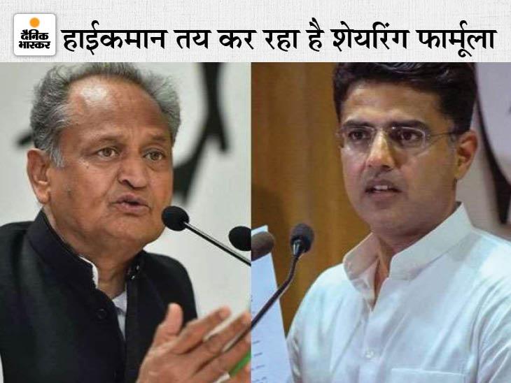 पायलट को खुश करने के लिए तीन समर्थक बन सकते हैं मंत्री, हाईकमान का मैसेज लेकर जयपुर आएवेणुगोपाल और माकन, गहलोत के साथ मंत्रणा|जयपुर,Jaipur - Dainik Bhaskar
