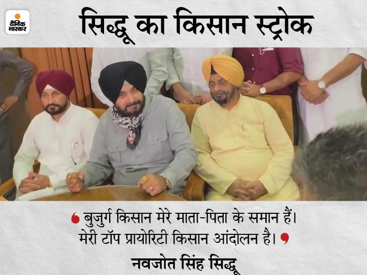 चमकौर साहिब में बोले- किसान बुलाएंगे तो नंगे पैर मिलने जाऊंगा; बताएं पंजाब में सत्ता की ताकत उनकी क्या मदद कर सकती है|पंजाब,Punjab - Dainik Bhaskar