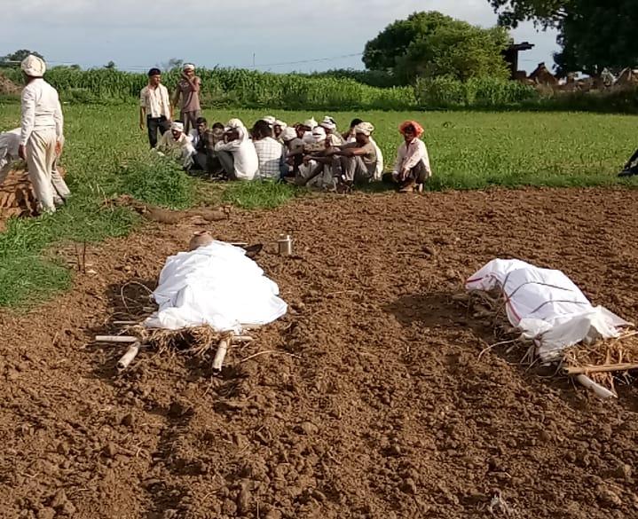एक ही खेत पर टिकी थी दोनों भाइयों की नजर, मनमाने तरीके से खेत जोतने पर कई बार झगड़ा भी हुआ|मुरैना,Morena - Dainik Bhaskar