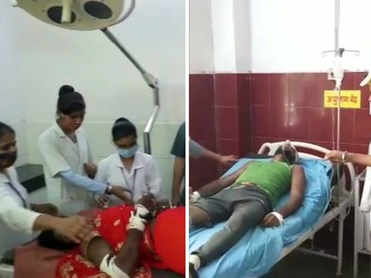 गंभीर रूप से घायल दुल्हन ने जिला अस्पताल में तोड़ा दम। एक अन्य का चल रहा इलाज।