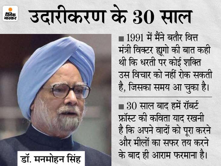 पूर्व PM बोले- देश की इकोनॉमी के लिए 1991 से भी मुश्किल वक्त आ रहा; ये खुश होने का नहीं, विचार करने का समय देश,National - Dainik Bhaskar