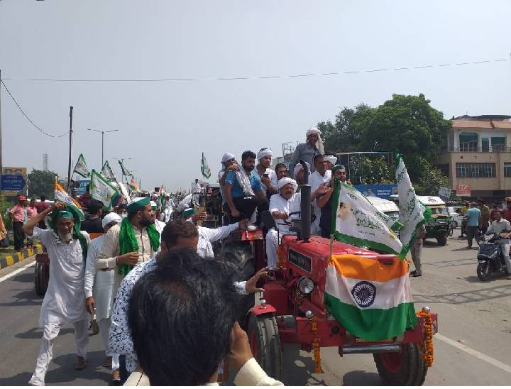 भारतीय किसान यूनियन, मेरठ के जिला अध्यक्ष मनोज त्यागी ने बताया कि किसान ट्रैक्टर यात्रा में बिजनौर के अलावा मेरठ और गाजियाबाद के किसान भी शामिल होंगे। - Dainik Bhaskar