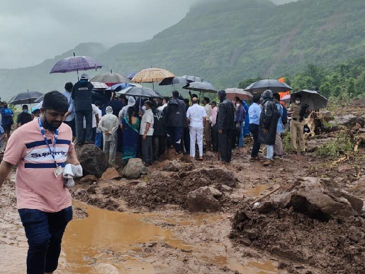 इस गांव में पिछले दो दिनों से लगातार मंत्रियों का दौरा जारी है।