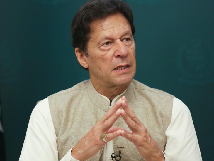 तरार खेल में एक चुनावी रैली में इमरान ने पाकिस्तान के कब्जे वाले कश्मीर को पाकिस्तान के नए प्रांत में बदलने की बात को खारिज कर दिया। - Dainik Bhaskar