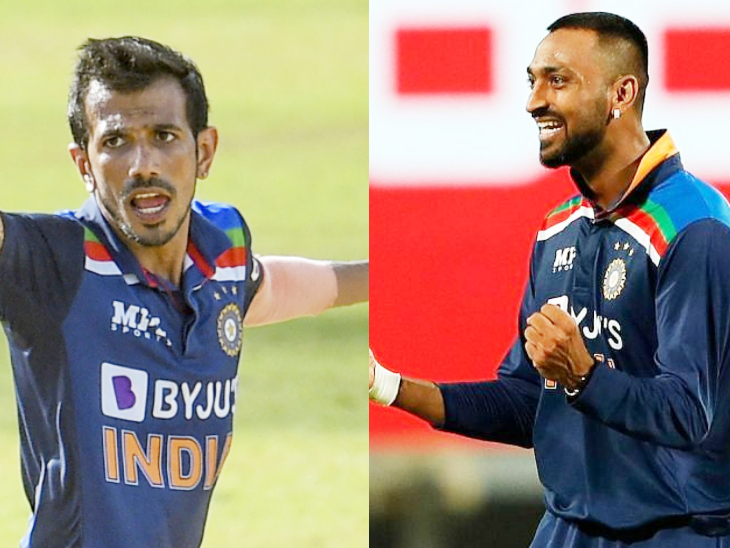 युजवेंद्र चहल और क्रुणाल पंड्या ने भी 1-1 विकेट लिए।