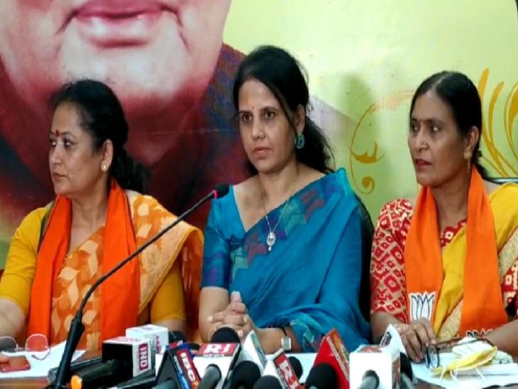 रक्षाबंधन से पहले कर दें प्रदेश में पूर्ण शराबबंदी, तो राखी के दिन महिला मोर्चा बांधेगी मंत्री जी को राखी रायपुर,Raipur - Dainik Bhaskar