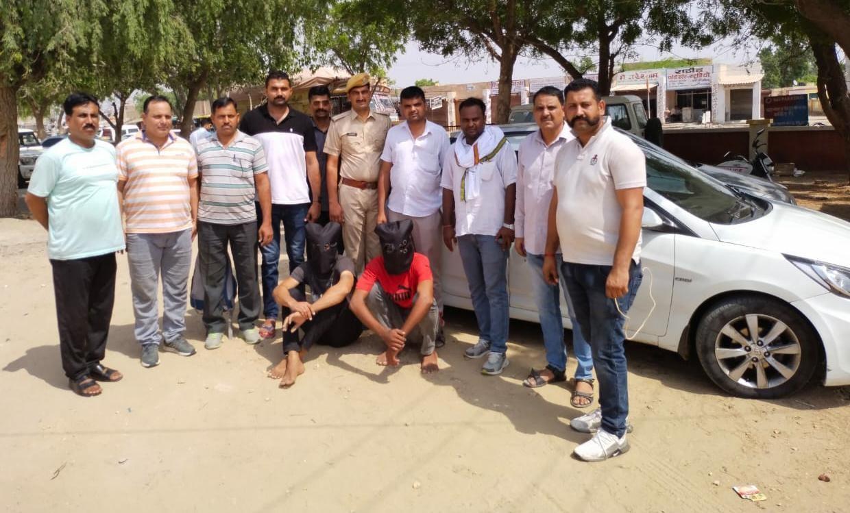 बीकानेर से होते हुए जैसलमेर पहुंच गए थे दोनों युवक, पुलिस ने एक-एक गांव तलाशा; अचानक दबिश देकर एक घर से दोनों को दबोच|बीकानेर,Bikaner - Dainik Bhaskar