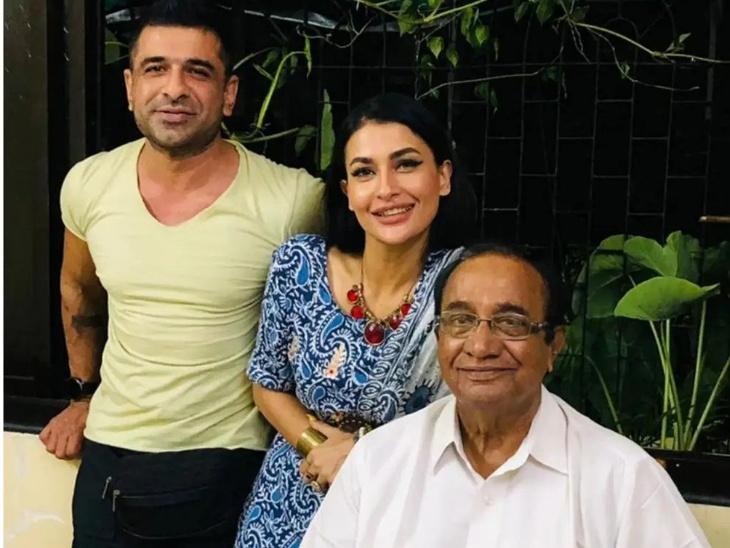 Eijaz Khan fulfilled the promise made in Bigg Boss 14, Took girlfriend Pavitra Punia Home to meet his father | ऐजाज खान ने पूरा किया बिग बॉस 14 मे किया गया वादा, पिता से मुलाकात करवाने गर्लफ्रेंड पवित्र पुनिया को लेकर गए घर