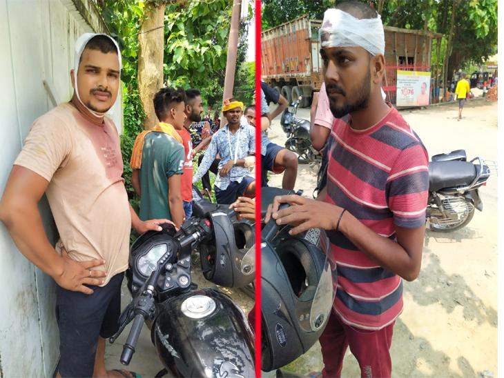 मनबढ़ों ने पहले की फायरिंग, फिर धारधार हथियार से मारकर किया युवक को घायल; हत्या की कोशिश व बलवा का केस दर्ज गोरखपुर,Gorakhpur - Dainik Bhaskar