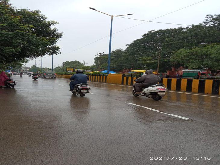 इंदौर में झमाझम की उम्मीद कम, रिझमिम से ही जुलाई का कोटा पूरा|इंदौर,Indore - Dainik Bhaskar