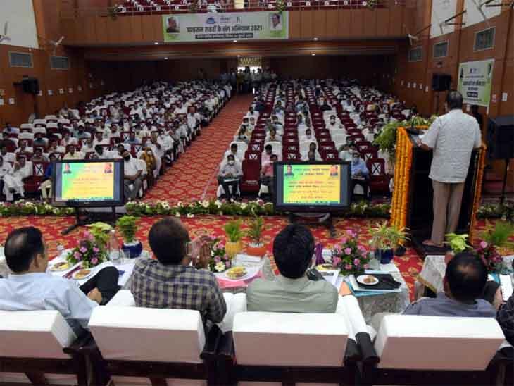 नगरीय विकास मंत्री शांति धारीवाल ने जोधपुर में की विकास कार्यों की समीक्षा जोधपुर,Jodhpur - Dainik Bhaskar