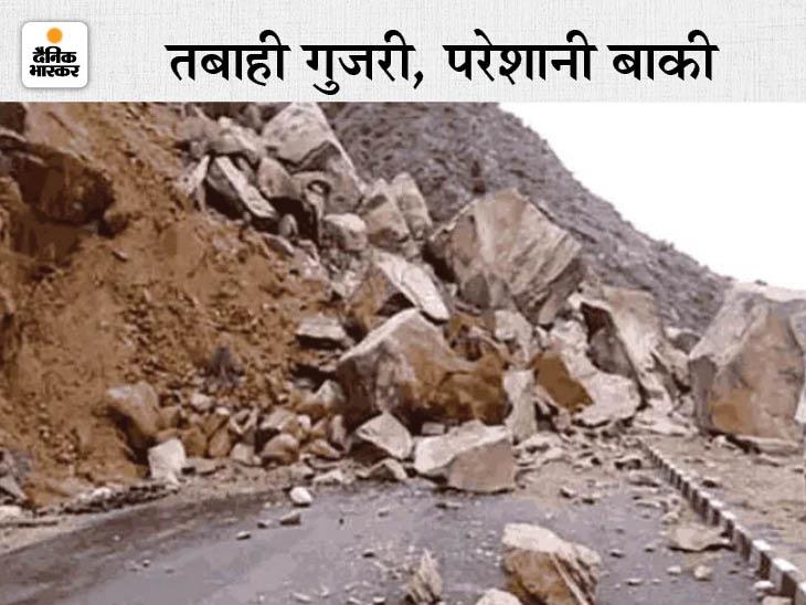 पुल टूटने से 3 गांवों का संपर्क कटा, 60 टूरिस्ट और 4 हजार गांव वाले फंसे; आर्मी और ITBP को हेलिकॉप्टर से भेजी जा रही रसद हिमाचल,Himachal - Dainik Bhaskar