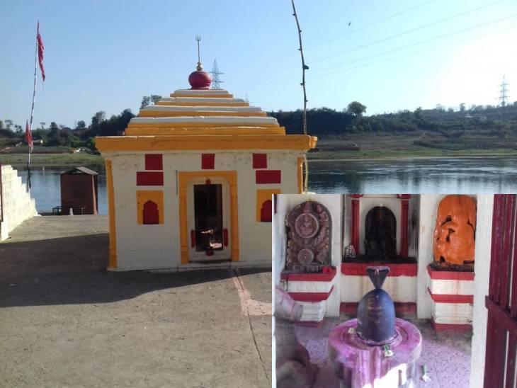 ग्वारीघाट में शिव पंचायतन मंदिर।
