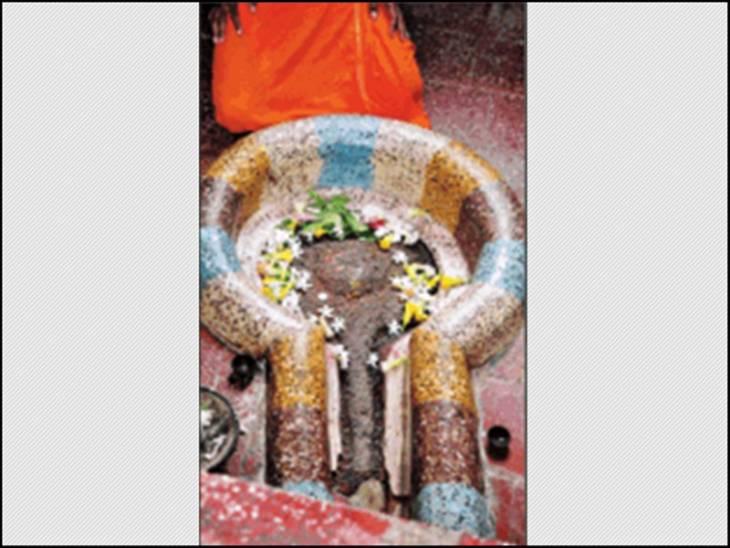 द्वापर युग की है गैबीनाथ भगवान की पिंडी।