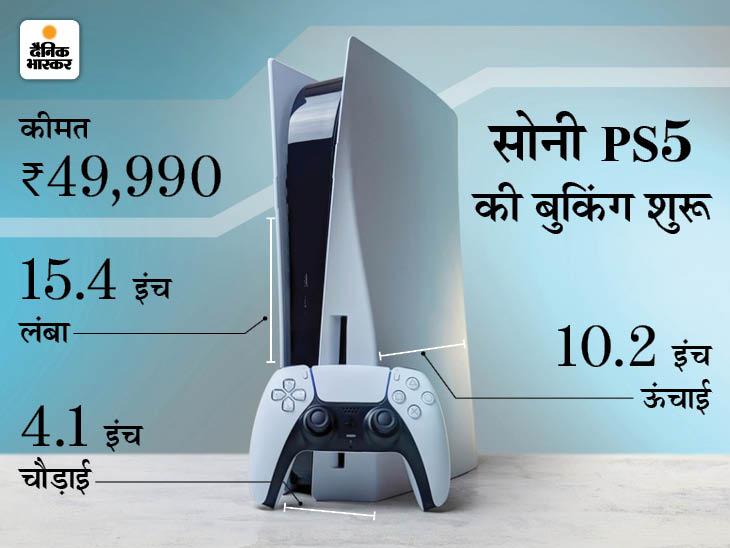 मोबाइल और टीवी पर खेल सकते हैं प्लेस्टेशन के गेम, डुअल सेंस कंट्रोलर और 3D वायरलेस हेडसेट से एक्सपीरियंस बढ़ेगा|टेक & ऑटो,Tech & Auto - Dainik Bhaskar