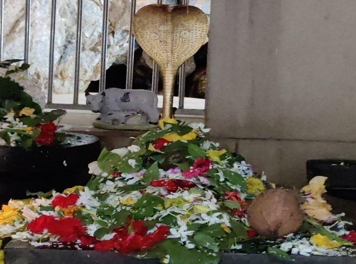 गुमरगुंडा का शिवालय रहा वीरान तो वहीं महादेव घाट व सीताराम शिवालय में उमड़ी भक्तों की भीड़|जगदलपुर,Jagdalpur - Dainik Bhaskar