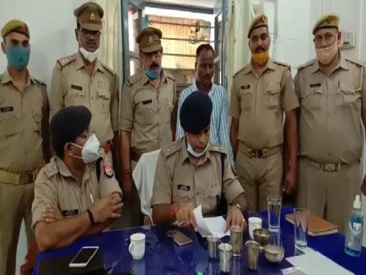 पढ़ा-लिखा युवक करता था चोरी, जेवर बेचने निकला तो पुलिस ने किया गिरफ्तार|मिर्जापुर,Mirzapur - Dainik Bhaskar