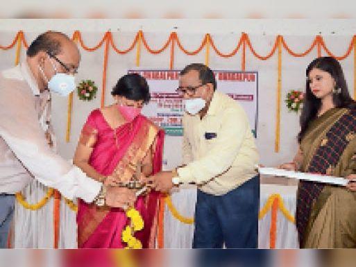 आप एंबेसडर, आप ही हैं ब्रांड, छात्र सफल हुए तो टीएमबीयू की सफलता: कुलपति|भागलपुर,Bhagalpur - Dainik Bhaskar