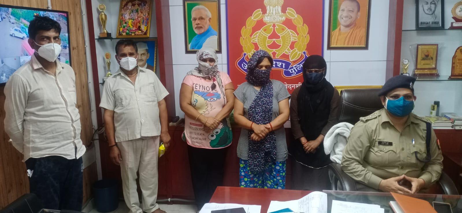 पुलिस ने बरामद किए दो बच्चे, पांच गिरफ्तार; अलीगढ़ में दबोचे गए दुर्योधन गैंग ने कराए थे चोरी|गाजियाबाद,Ghaziabad - Dainik Bhaskar