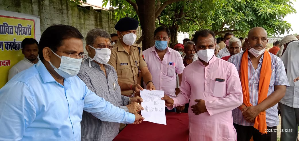 अयोध्या एयरपोर्ट को हुआ टेंडर, जल्द शुरू होगा काम; 28 किसानों को मिला पुनर्वास प्रमाण पत्र|अयोध्या (फैजाबाद),Ayodhya (Faizabad) - Dainik Bhaskar