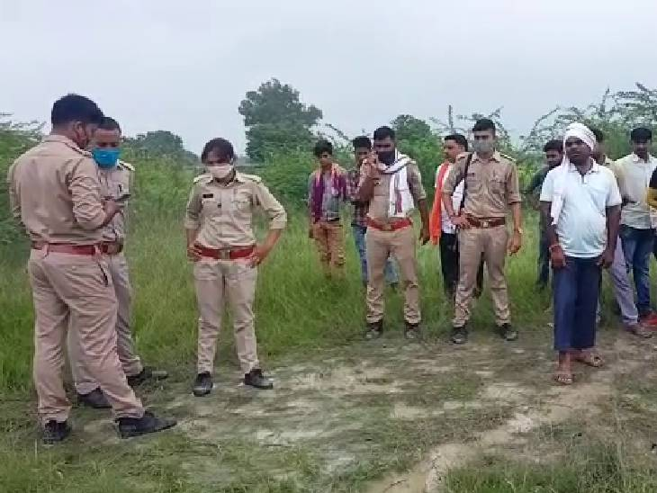 रेप के बाद युवती की हत्या कर जंगल में फेंका शव, बीते दो दिनों में भी दो लोगों की हुई थी हत्या|रायबरेली,Raibareli - Dainik Bhaskar