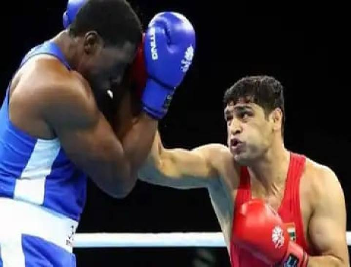 टोक्यो ओलिंपिक में जमैका के बॉक्सर रिकार्डो ब्राउन को हराकर जीत की ओर बढ़े बॉक्सर सतीश कुमार, क्वार्टर फाइनल में पहुंचे|मेरठ,Meerut - Dainik Bhaskar