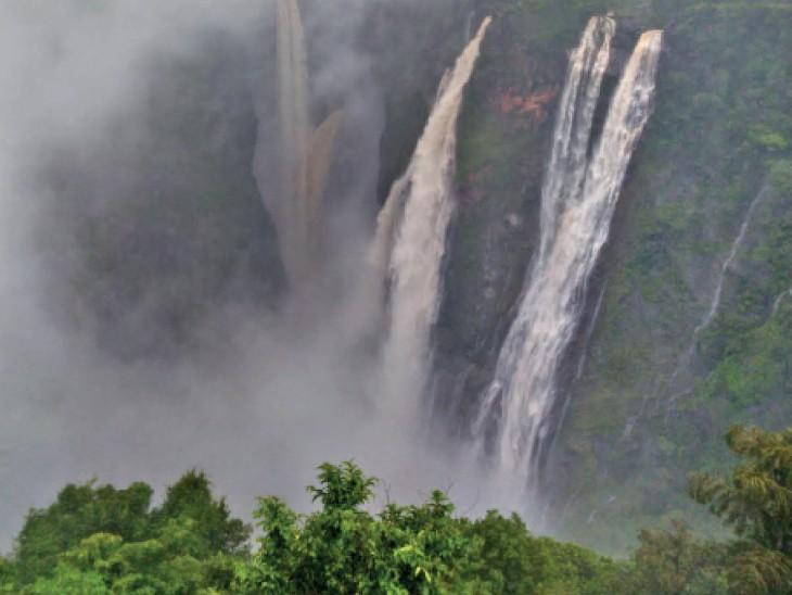 देश में मानसूनी बारिश 'कम' से 'सामान्य' की ओर, मौसम विभाग का अनुमान- इस महीने सरप्लस हो जाएगी बारिश|दिल्ली + एनसीआर,Delhi + NCR - Dainik Bhaskar