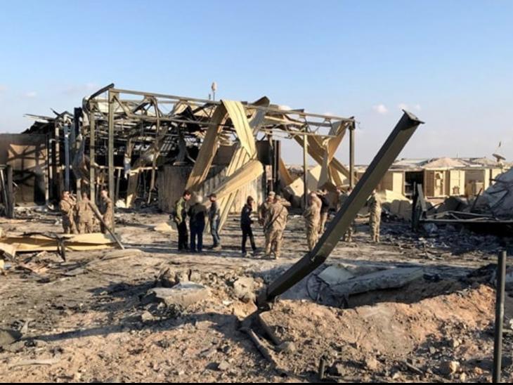 US Iraq | US Embassy Rocket Attack in Iraq's Baghdad | बगदाद में अमेरिकी दूतावास के पास गिरे दो गोले; दो दिन पहले अमेरिका ने यहां से सेना हटाने का ऐलान किया था