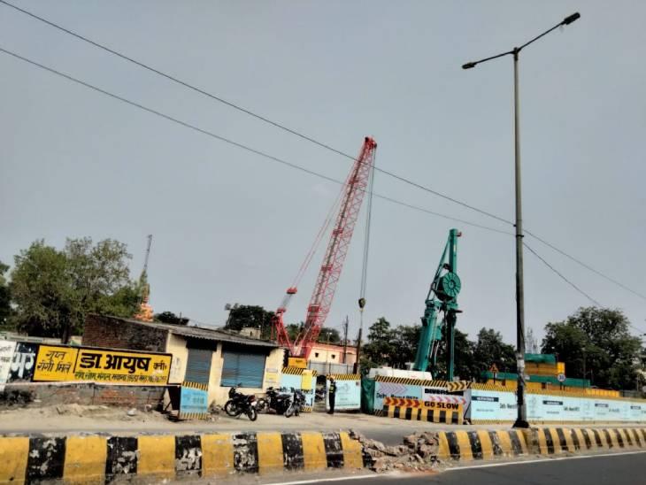 मेरठ में 30 जुलाई से दिल्ली रोड पर रहेगा डायवर्जन, शहर में लंबे समय तक जाम झेलेगी जनता मेरठ,Meerut - Dainik Bhaskar