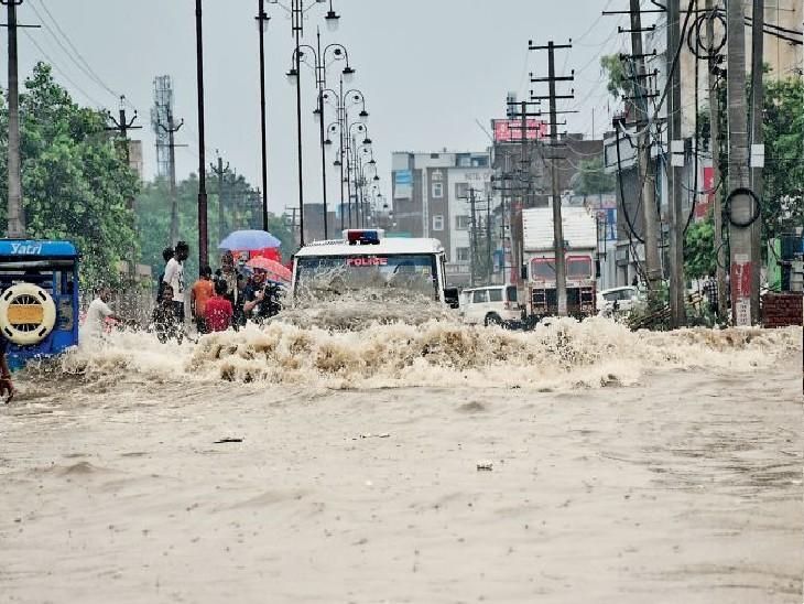 मानसून सीजन में 460 मिमी. होती है बारिश, अब तक 235 मिमी. हुई हरियाणा,Haryana - Dainik Bhaskar