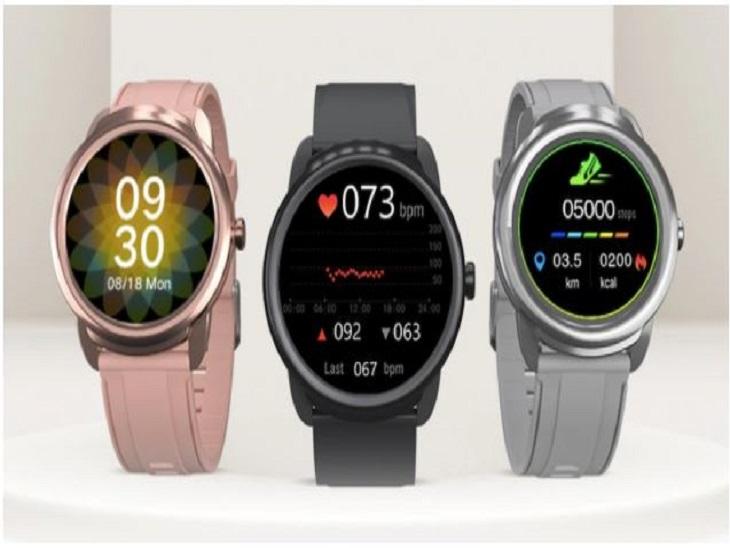 Portronics Kronos Beta Smartwatch Launched; Check Price in India & Specifications | इसमें 300 गाने स्टोर कर पाएंगे, 100 फेस से डेली मिलेगा नया लुक; 7 दिन का बैटरी बैकअप मिलेगा