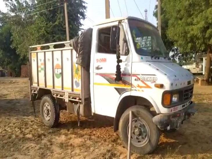रायपुर में ढाबे पर दोस्ती हुई, पता तलाशने ड्राइविंग सीट पर बिठा दिया, रास्ते में चालक पानी लेने उतरा तो ट्रक लेकर भाग निकला चोर रायपुर,Raipur - Dainik Bhaskar
