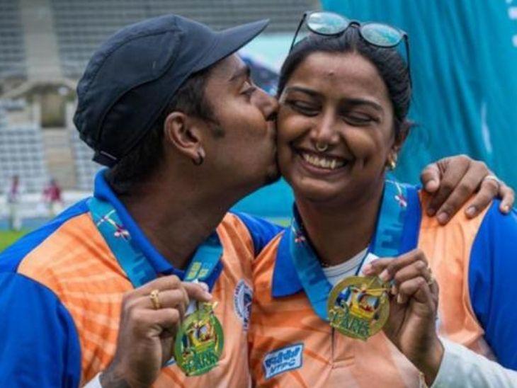 दीपिका और अतनु 8 साल तक एक-दूसरे का चेहरा नहीं देखना चाहते थे, 2016 में हुआ प्यार और अब टोक्यो में मेडल के दावेदार|टोक्यो ओलिंपिक,Tokyo Olympics - Dainik Bhaskar