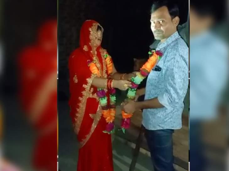 भिंड में दिव्यांग से 90 हजार रुपए लेकर 15 साल के लड़के की मां से कराई शादी, रात 12 बजे छत से कूदकर भागी; गश्त कर रही पुलिस थाने ले आई|भिंड,Bhind - Dainik Bhaskar