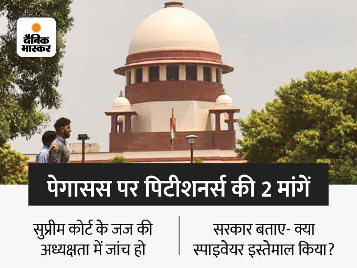 SIT जांच की अर्जी पर अगले हफ्ते सुनवाई, पिटीशनर्स ने कहा- जासूसी की हकीकत पता चले देश,National - Dainik Bhaskar